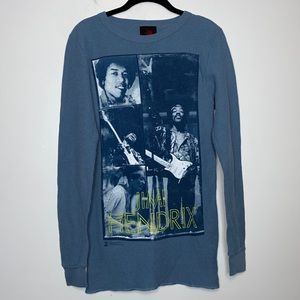 Zion Jimmy Hendrix Thermal Graphic Print Size M